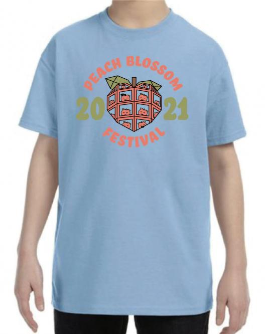T-Shirt on Model