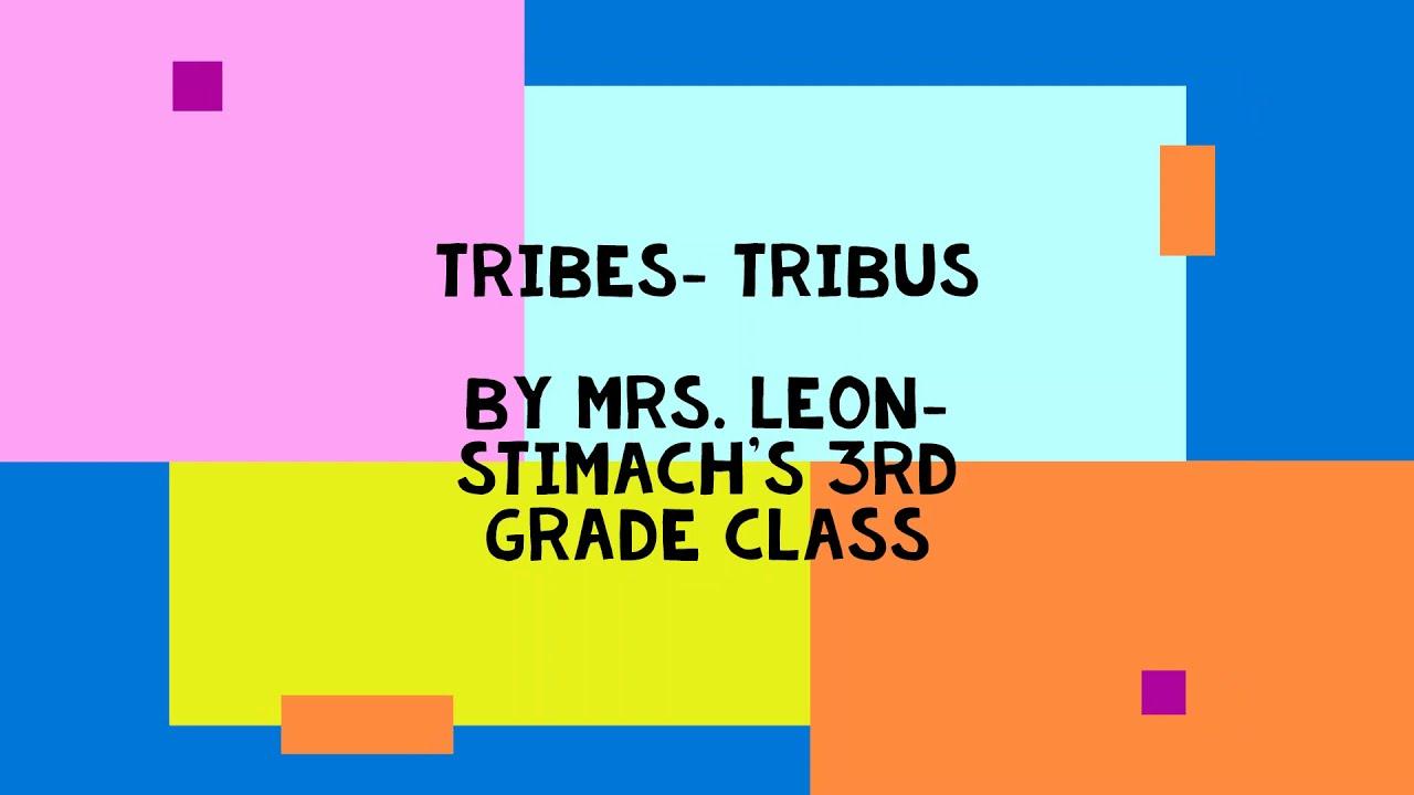 """""""Tribes – Tribus"""""""
